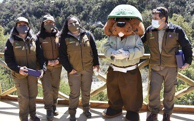 Chile celebró Día Nacional de las y los Guardaparques con acto en Río Clarillo