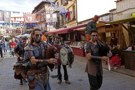 Fiesta de la Vendimia en ciudad Toro, España