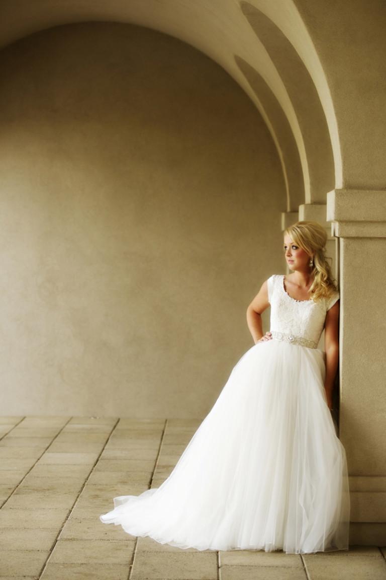 Utah Bridal Pictures sassy wedding dress
