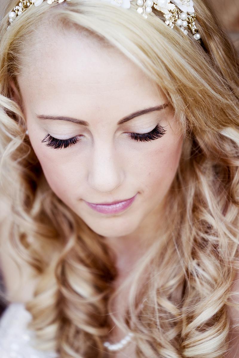 Utah Bridal Pictures eyelashes hair beautiful