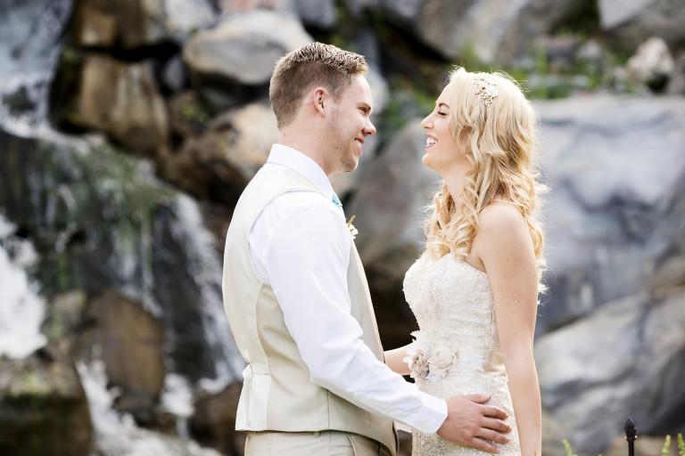 Utah Bridal Pictures bokeh smile laugh