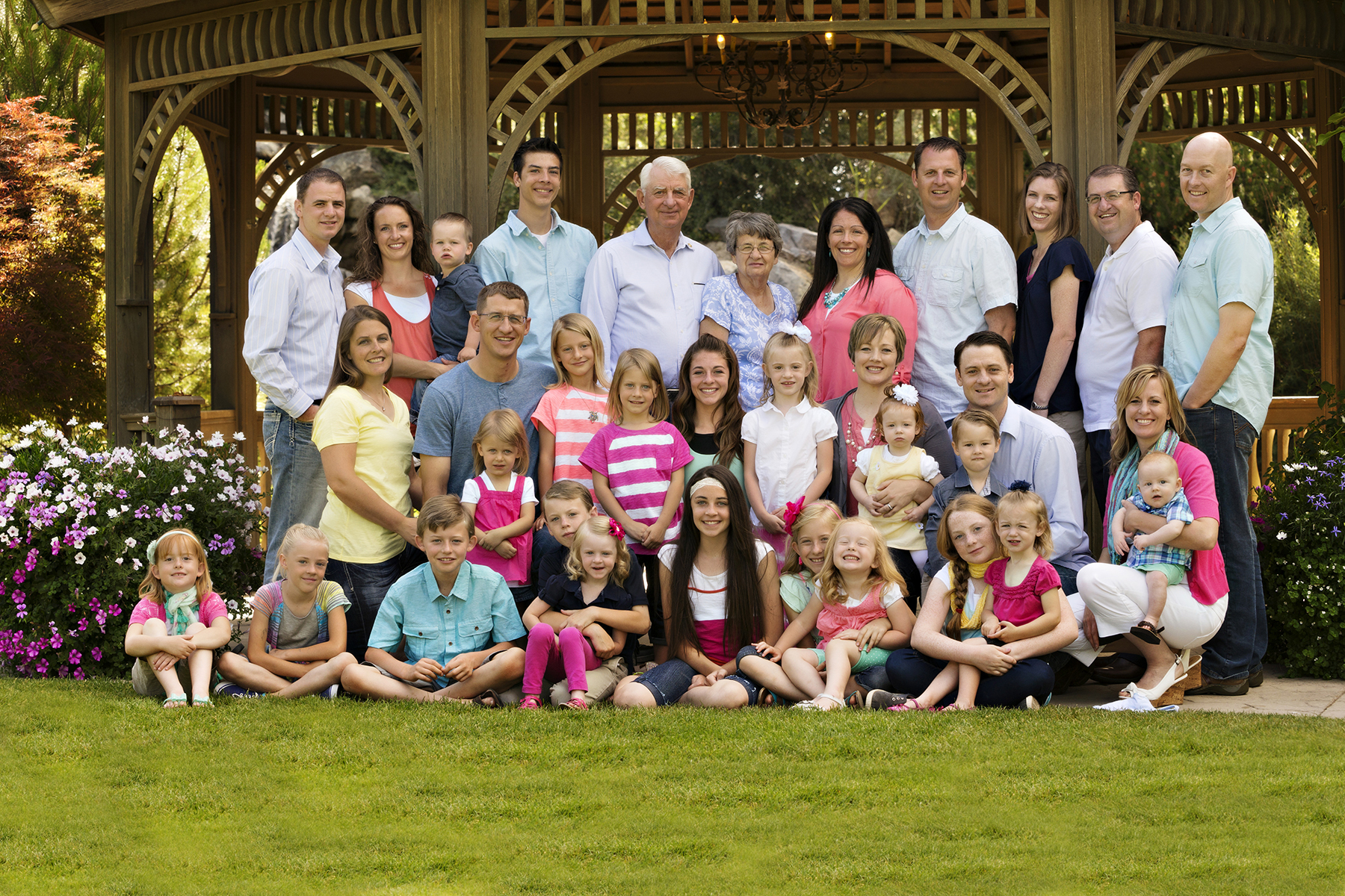 Utah Big Family Photos Thanksgiving point