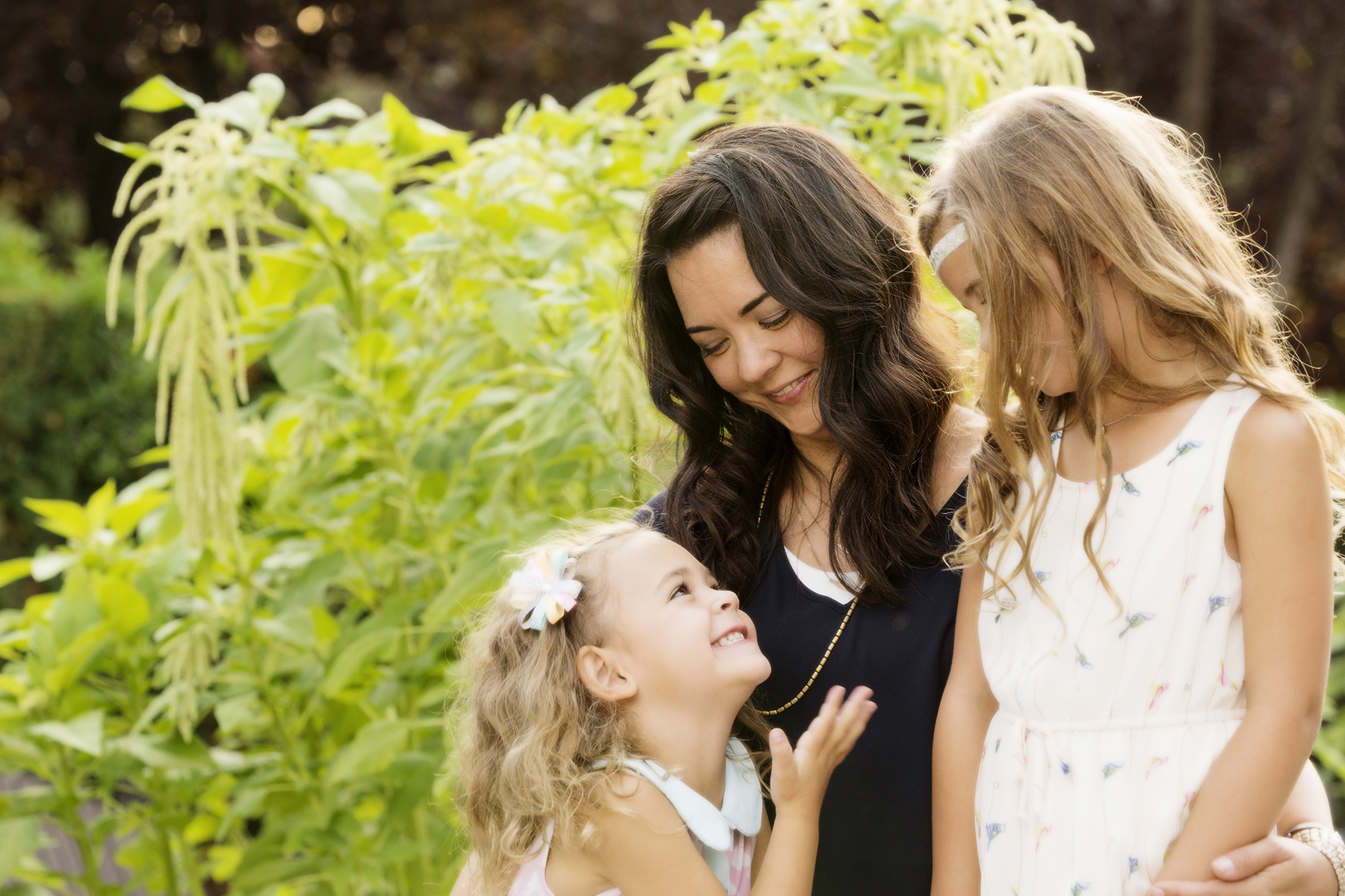 Utah Family Photos mother daughters spring happy