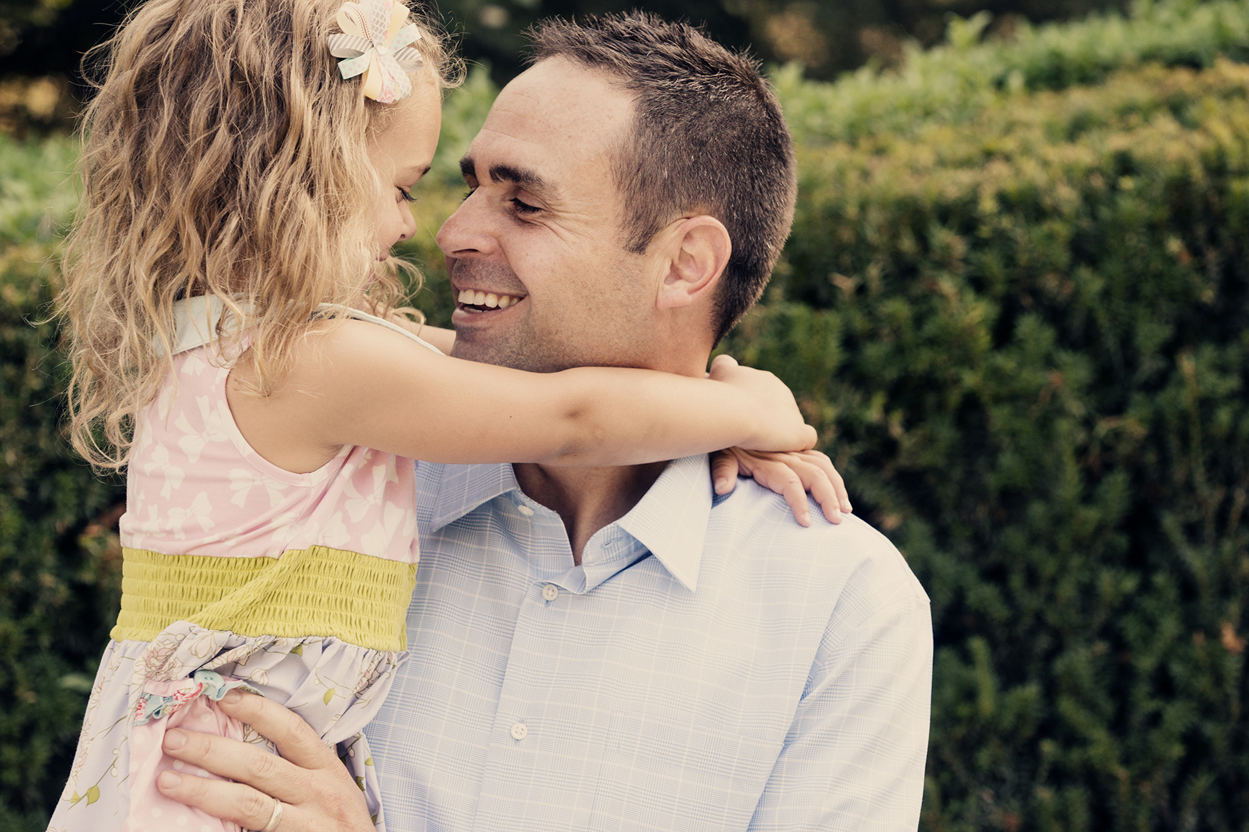 Utah Family Photos daddy daughter smile love