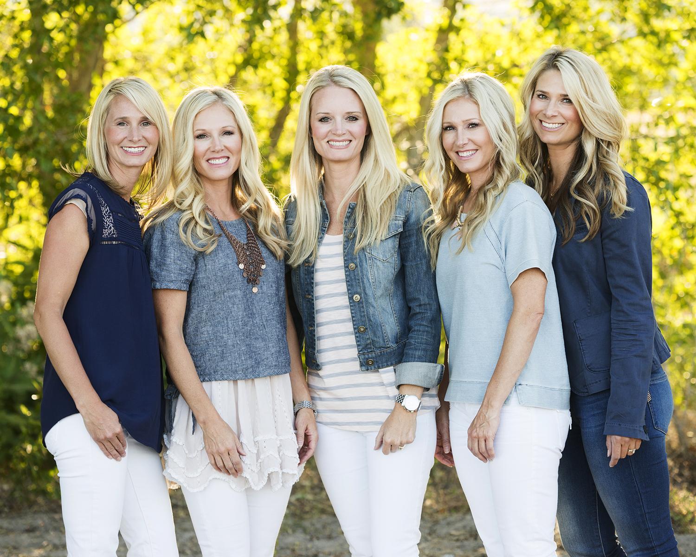 Utah Family Photos beautiful sisters bear lake