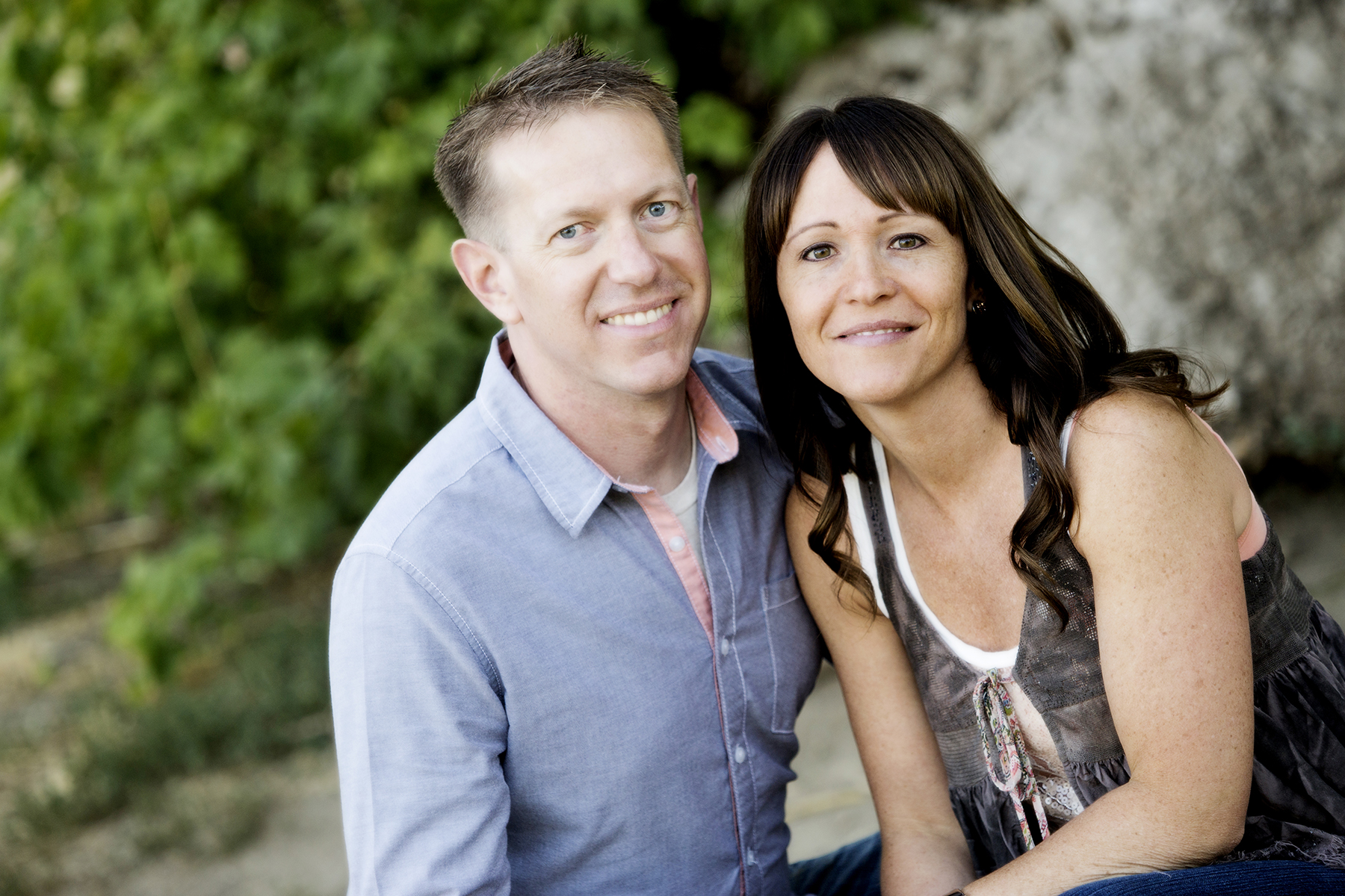 Utah Couple Photos tender smile happy