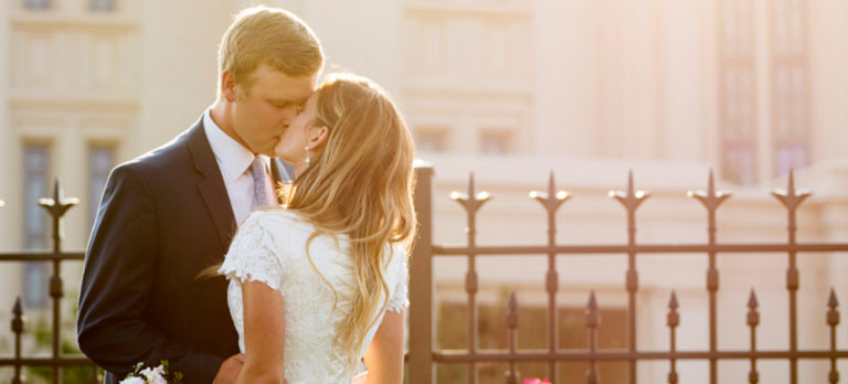 Payson Temple Wedding
