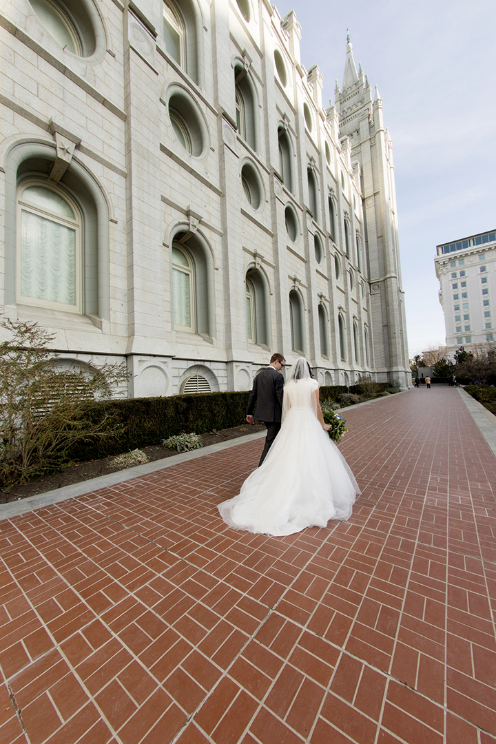 Salt Lake City Temple Walk