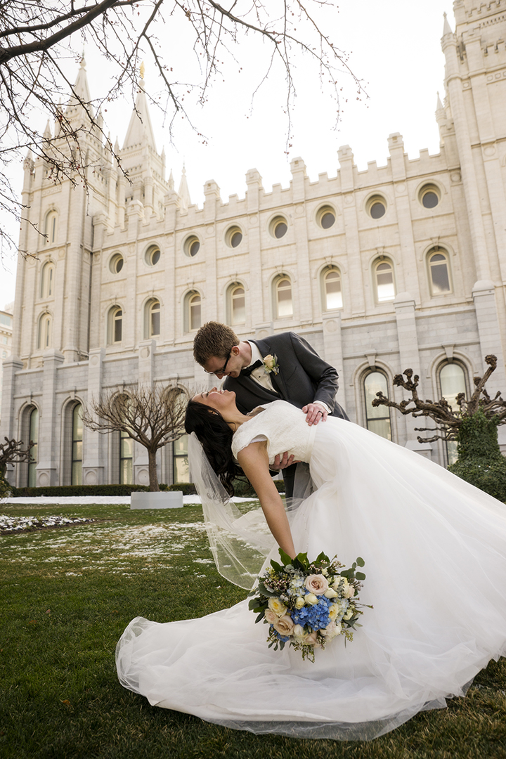 Salt Lake City Temple Kiss
