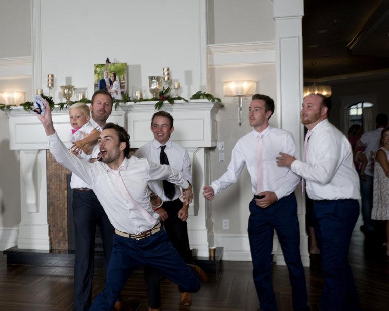 Wedding Garter Toss
