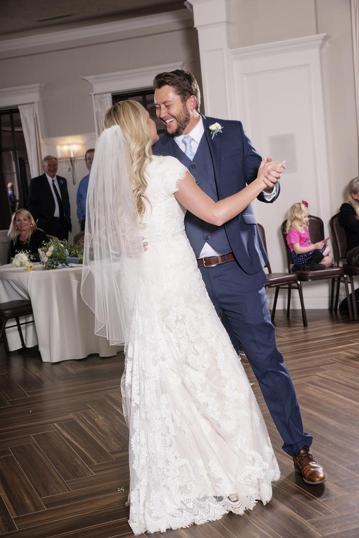 Happy Groom Wedding First Dance