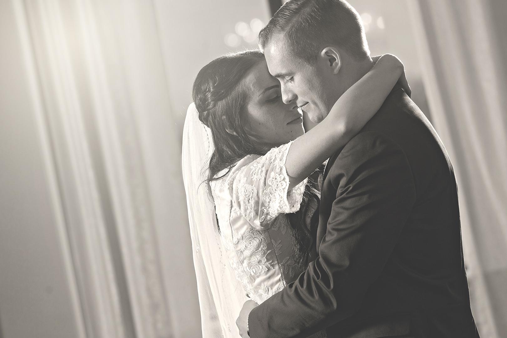 True Love Wedding Dance black and white