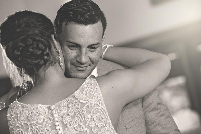 Sepia Wedding First Dance
