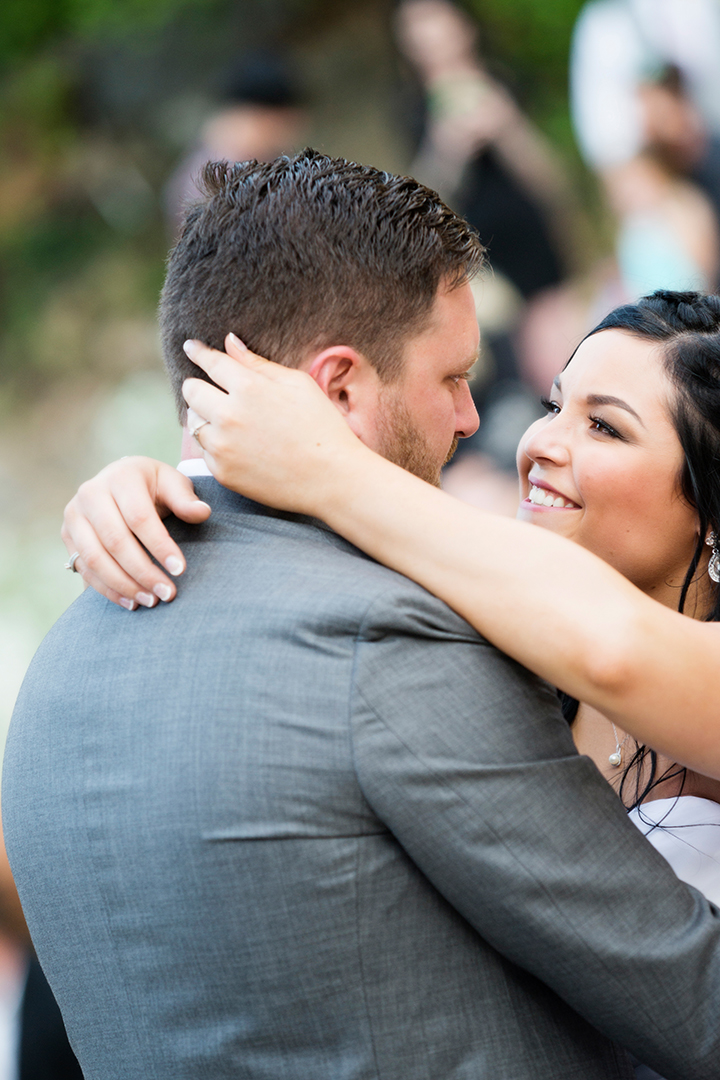 Wedding Photography at Louland Falls First Dance