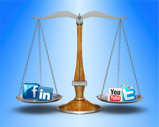 Social Networking Balance For Business