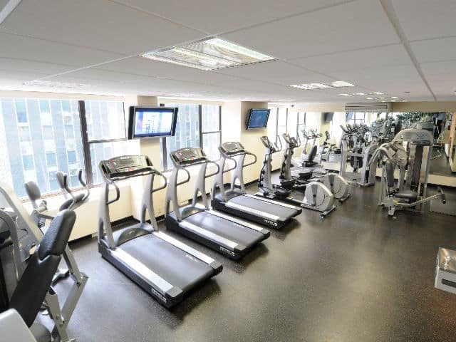 Hotel gyms are usually well equipped, clean and have great views