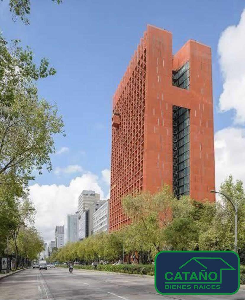 Av. Paseo De La Reforma – Espectacular Loft sobre Paseo de la Reforma de 90m2, en un ambiente muy exclusivo y seguro.Amenities inigualables