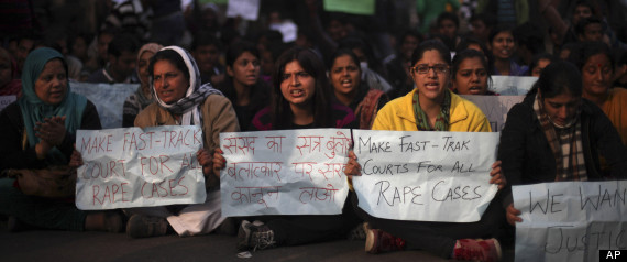 India Gang Rape Protests