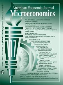 ester AmericanEconomicJournalMicroeconomics