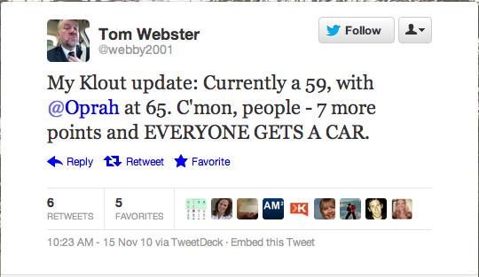 lorre pr-tom-webster-klout-tweet