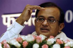 Finance Minister P Chidambaram
