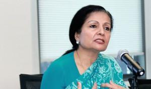 Ms. Lakshmi Puri and Mr. John Hendra from UN Women at the consul