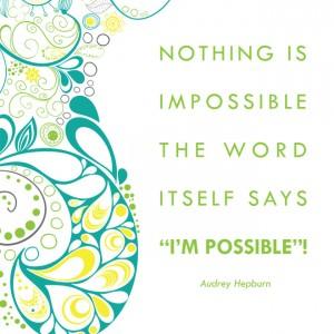 Possibility Quote