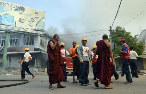 Red Cross in Burma