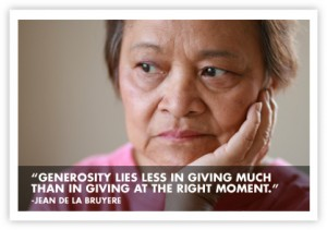 belinda shelter generosity