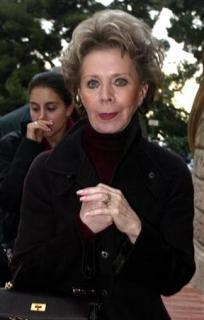 Lily Safra, widow of billionaire Edmond Safra, leaves Monaco law court after nurse [Ted Maher], char..