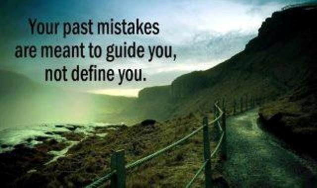 past mistakes as a guide