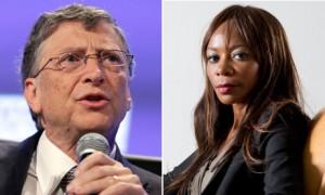 Bill Gates and Dambisa Moyo