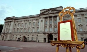 royal baby formal notice