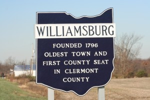 Williamsburg old sign