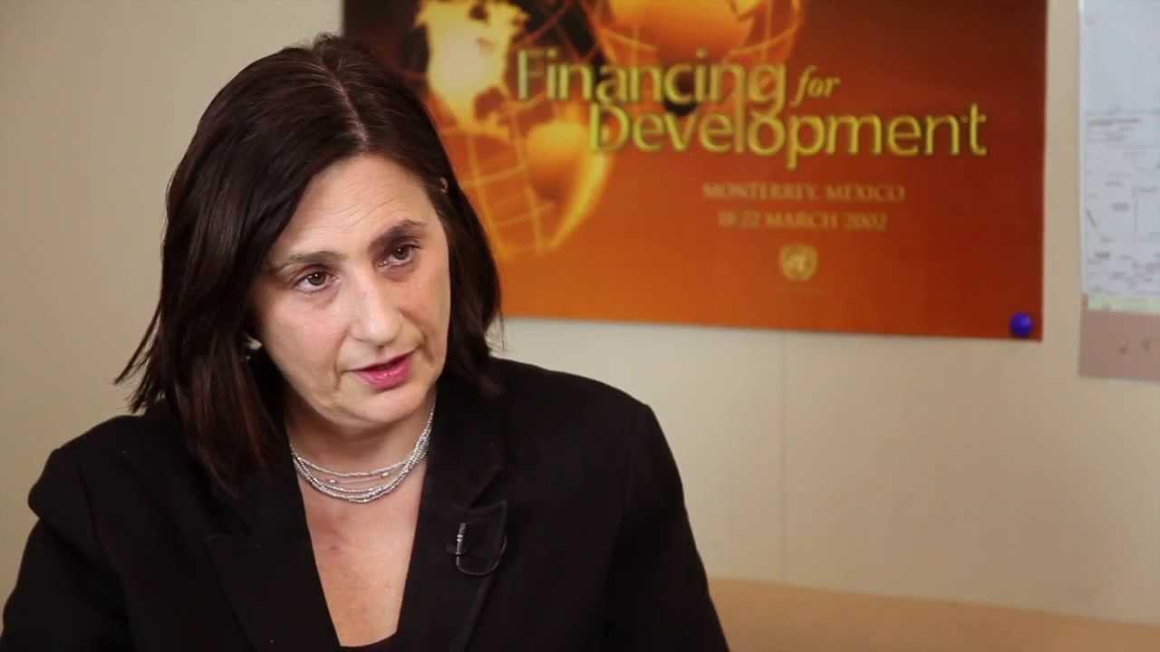 Shari Spiegel, Chief, Policy Analysis & Development Branch, at UN DESA's Financing