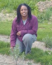 sarah kneeling