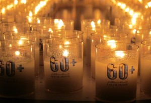 Earth Hour - (c) EWS-WWF candles