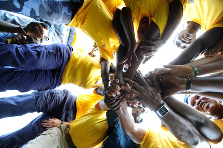 International Day of Peace celeberation in Juba.
