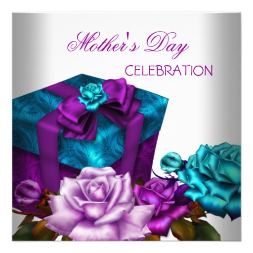 mothers_day_purple_teal_pink_roses_floral_flowers_invitation