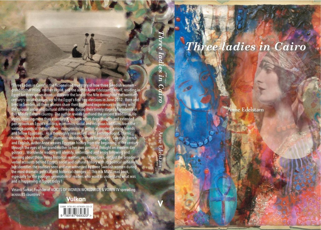 three ladies in cairo cover back