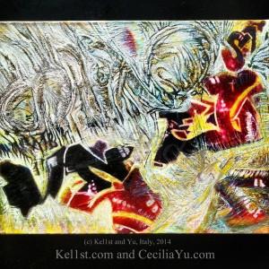 cecilia Kel1st and Yu 4 Los Angelos