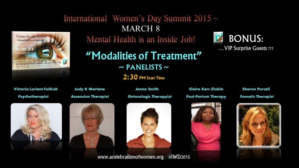 MARCH 8 Modalities of Treatment PANEL