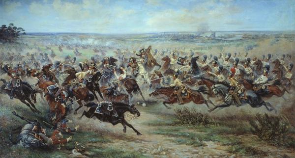 paintings war history battles historic napoleon bonaparte cavalry cuirassier_www.wall321.com_19