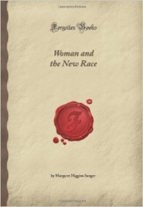 sanger women and the new race book