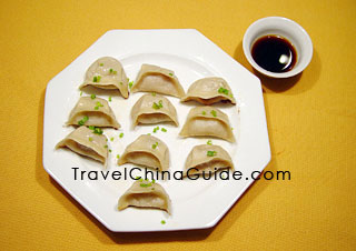 Chinese dumplings jiaozi