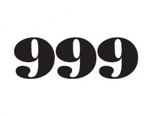 999 logo mono master artwork