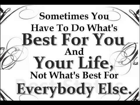 everyone for self