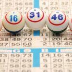 bingo cards and number balls