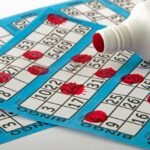 bingo cards and blotter
