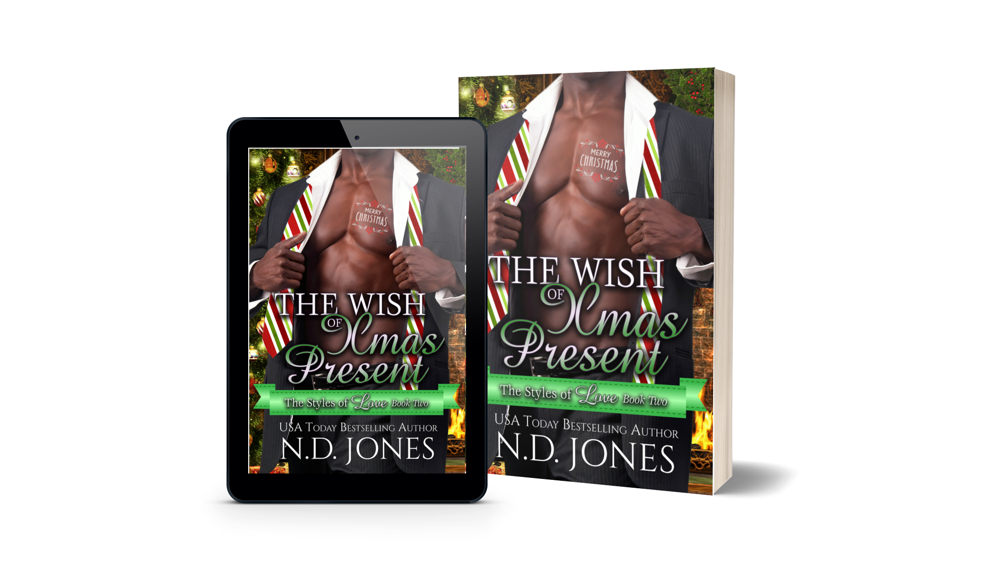 he Wish of Xmas Present an African American holiday romance by nd jones